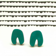 Swerve Horse Shoe Shaped Mini Earrings