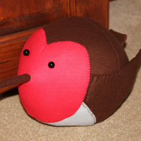 Fat Robin Doorstop