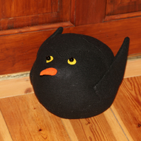 Fat Blackbird Doorstop