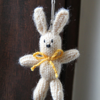 Tiny Rabbit Key Ring