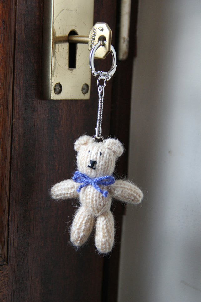 Tiny Teddy Key Ring