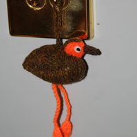 Little Brown Dangly Bird