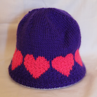 Purple Heart Beanie