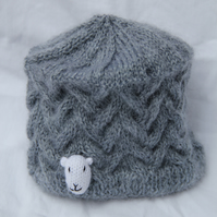 Grey Sheep Hat