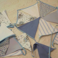 Eighteen Flag Shades of Blue Bunting
