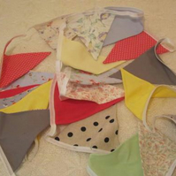 30 Flag Summer Colours Bunting
