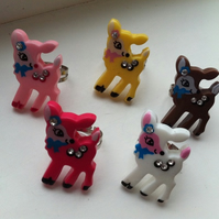 Little Deer Rings - Choose Your Colour ♥