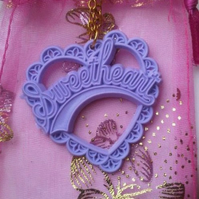Sweetheart Lilac Necklace ♥