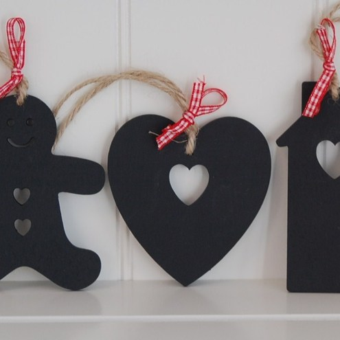Wooden christmas decorations...