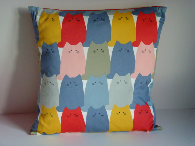 Cushion Cover - Quirky Cats