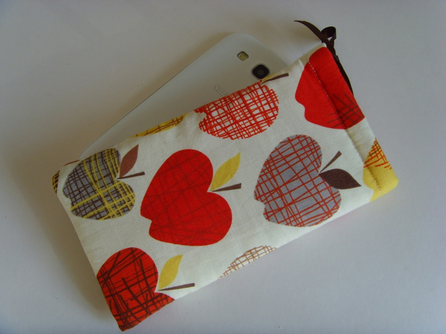 Samsung S6 - Larger Mobile Case - Apples