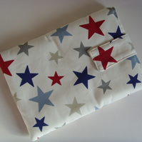 "iPad Mini - 7"" Tablet Cover - RWB Stars"