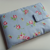 "iPad Mini - 7"" Tablet Cover - Blue Rosebud"