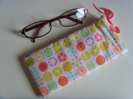 Glasses Case - Buttons