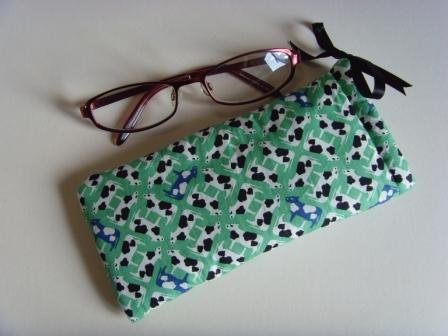 Cows - Glasses Case - Drawstring Pouch