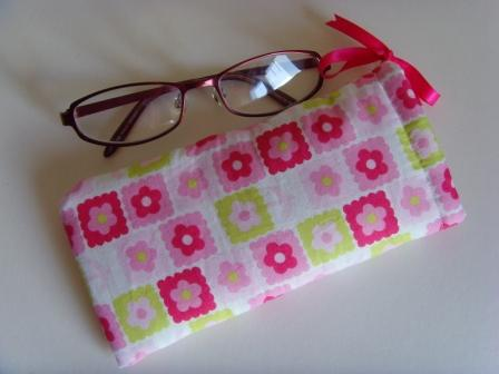 Glasses Case - Pastel Flowers