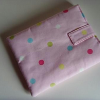 "iPad - 10"" Tablet Cover - Pink Spots"
