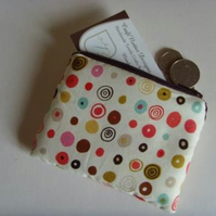 Coin Purse - Multi Dots