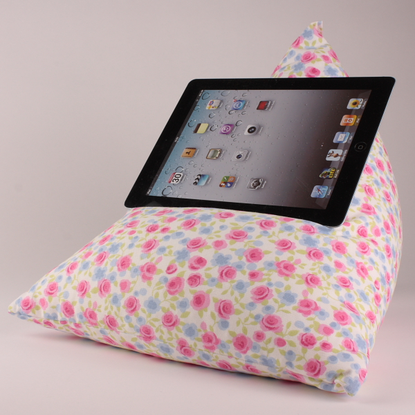 Ditsy Chintz - Tablet - iPad - e-reader - Book - Beanbag - Cushion - Pillow