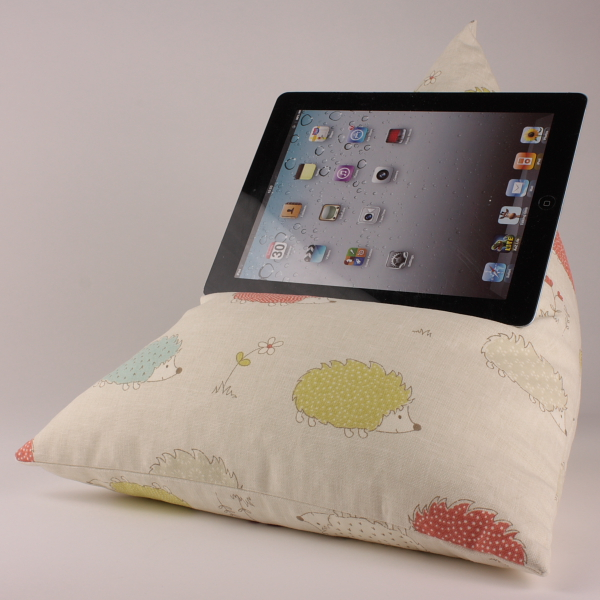 Hedgehogs - Tablet - iPad - e-reader - Book - Beanbag - Cushion - Pillow