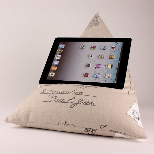 Postcards - Tablet - iPad - e-reader - Book - Beanbag - Cushion - Pillow