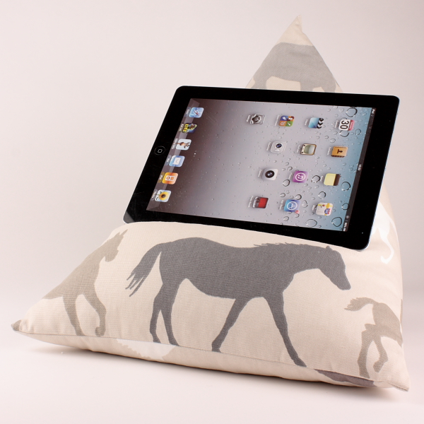 Horse - Tablet - iPad - e-reader - Book - Beanbag - Cushion - Pillow