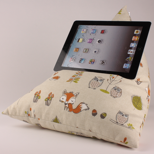Woodland - Tablet - iPad - e-reader - Book - Beanbag - Cushion - Pillow