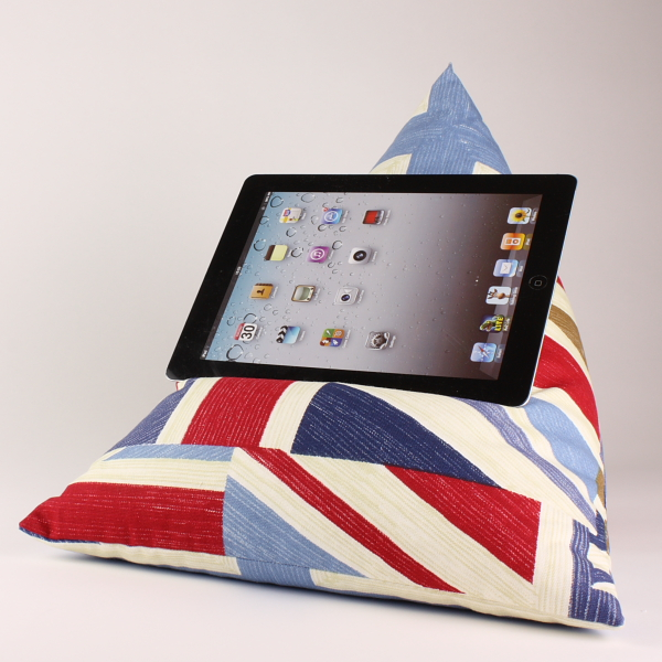 Union Jack - Tablet - iPad - e-reader - Book - Beanbag - Cushion - Pillow