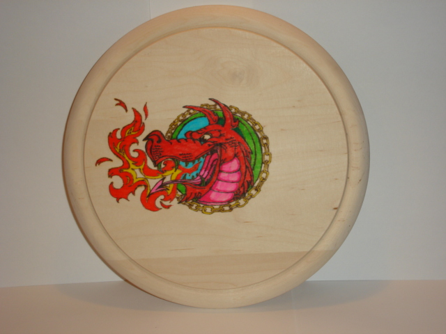 Pyrography decorated board,pot stand,place mat, wall plaque
