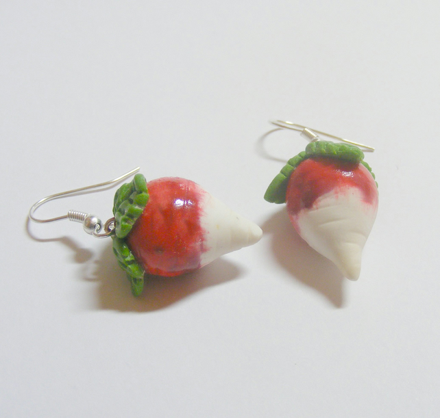 radish earrings radish earrings harry potter lovegood insp folksy 4211