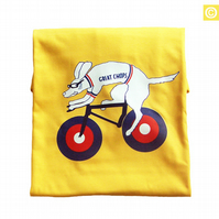 Men's t-shirt Tour De France 'GREAT CHOPS' Yellow