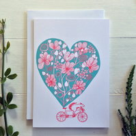 FUNNY TANDEM CARD - Be My Stoker