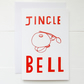 Jingle Bell Christmas Card