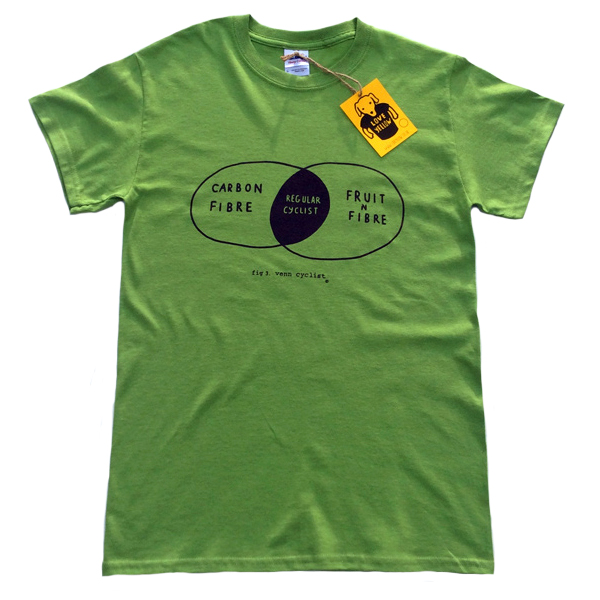 Men's Cycling T-Shirt - Funny Regular Cyclist