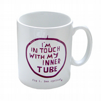 Mug for cyclists - FUNNY ZEN CYCLIST