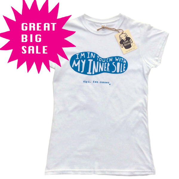 SALE Women's Running T-Shirt - In Touch With My Inner Sole