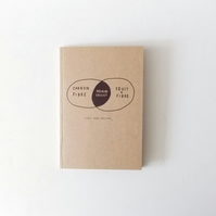 Cycling Fan Recycled Notebook 'Fruit n Fibre - Regular Cyclist'