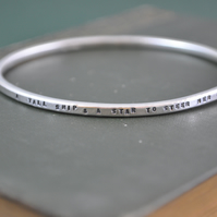 Silver Bangle, A Tall Ship & A Star To Steer Her By