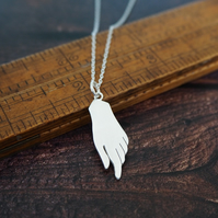 Sterling Silver Hand Pendant