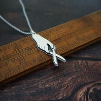 Limited Edition Maker Hand Necklace, The Cutter