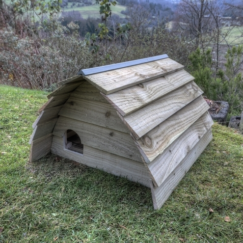 Deluxe Hedgehog house.