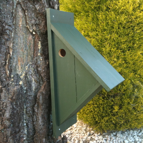 Triangular Bird Box