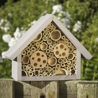 Bee Box, Bee Hotel, Large, in 'Forest Mushroom'