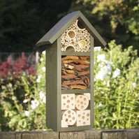 Bee Hotel, Three tier, in Old English Green