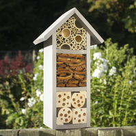 Three Tier Bee Hotel, in 'Muted Clay'
