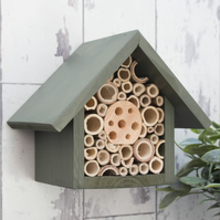 Small Bee and Insect House 'Old English Green'.