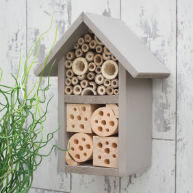 Bee Hotel, Two Tier, In 'Muted Clay'.