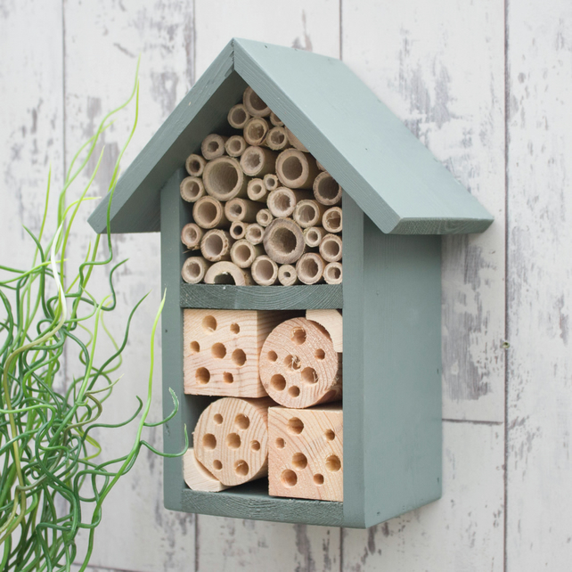 Bee House, Mason Bee House, Solitary Bee and Ladybird House in 'Wild Thyme'