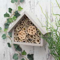 Bee Box, Bee Hotel, Large, in 'Muted Clay'