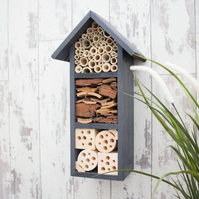 Three Tier Bee Hotel, Wildlife House, in 'Urban Slate'.